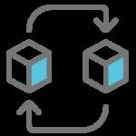 區塊鏈技術可應用於各行各業,實時同步數據